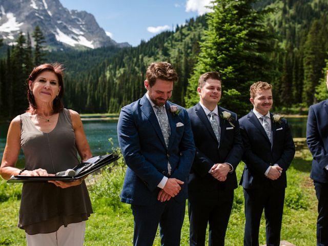 Jonathan and Taryn's wedding in Fernie, British Columbia 42