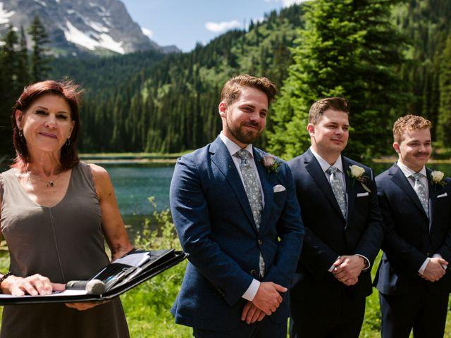 Jonathan and Taryn's wedding in Fernie, British Columbia 43