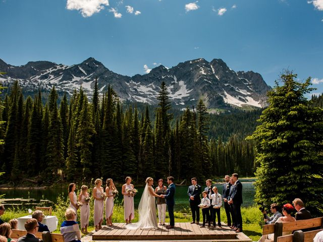 Jonathan and Taryn's wedding in Fernie, British Columbia 44