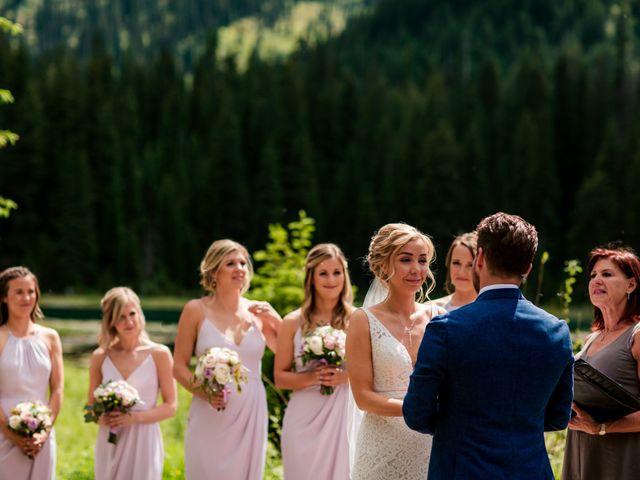 Jonathan and Taryn's wedding in Fernie, British Columbia 45