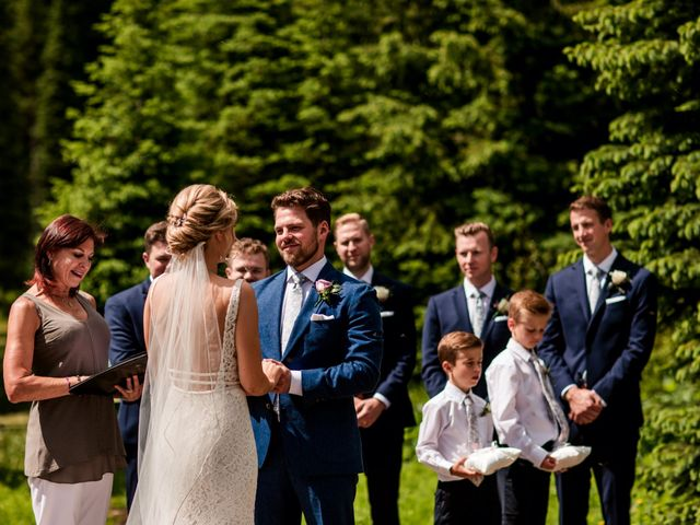 Jonathan and Taryn's wedding in Fernie, British Columbia 46