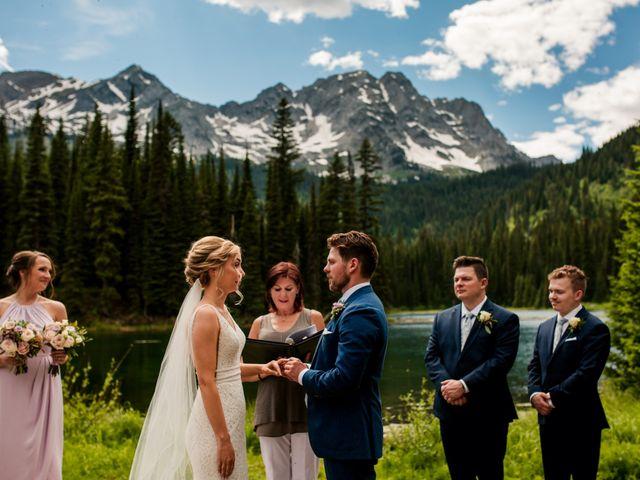 Jonathan and Taryn's wedding in Fernie, British Columbia 49