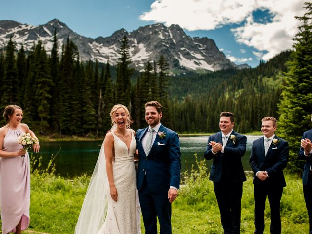 Jonathan and Taryn's wedding in Fernie, British Columbia 52