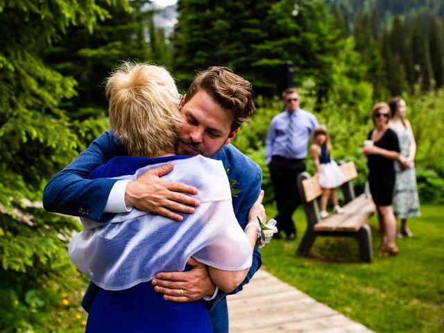 Jonathan and Taryn's wedding in Fernie, British Columbia 57