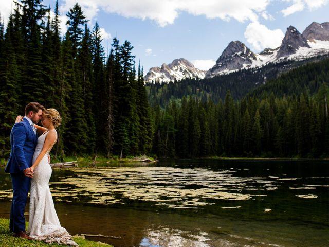 Jonathan and Taryn's wedding in Fernie, British Columbia 62