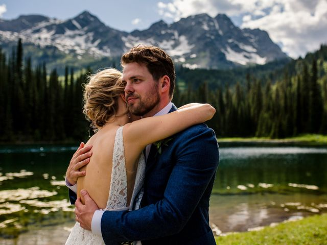 Jonathan and Taryn's wedding in Fernie, British Columbia 64