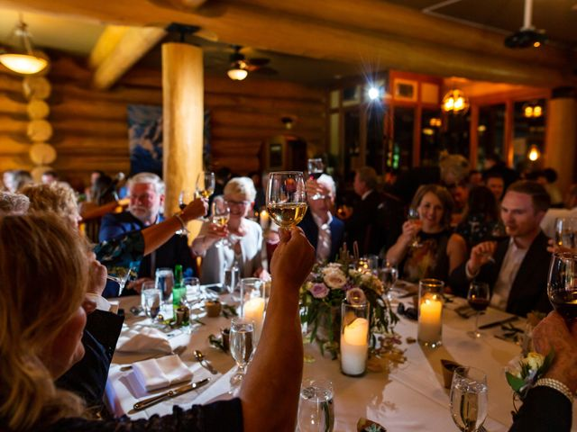 Jonathan and Taryn's wedding in Fernie, British Columbia 74
