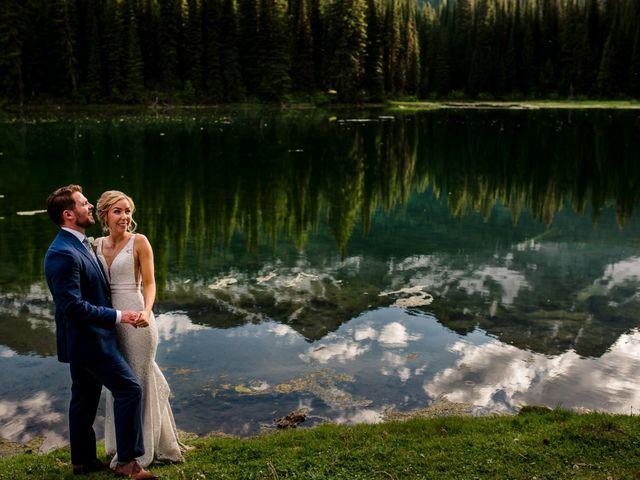 Jonathan and Taryn's wedding in Fernie, British Columbia 82