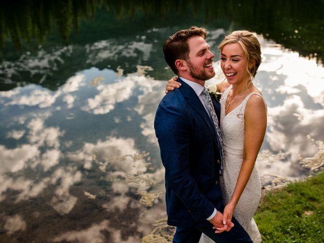 Jonathan and Taryn's wedding in Fernie, British Columbia 1