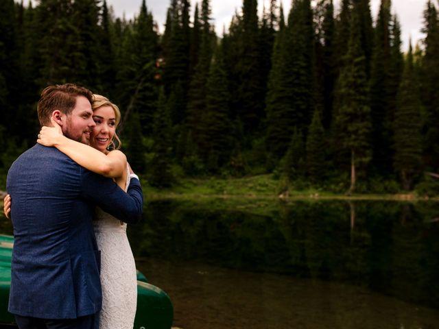 Jonathan and Taryn's wedding in Fernie, British Columbia 85
