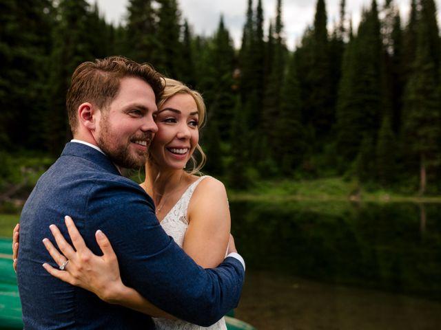 Jonathan and Taryn's wedding in Fernie, British Columbia 86