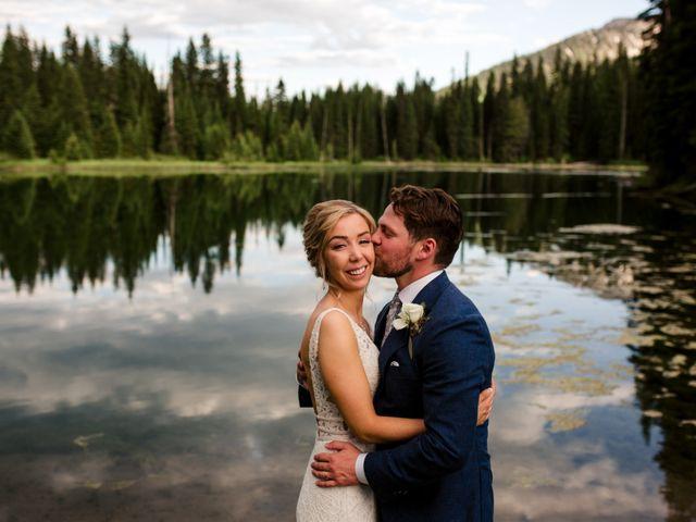 Jonathan and Taryn's wedding in Fernie, British Columbia 88