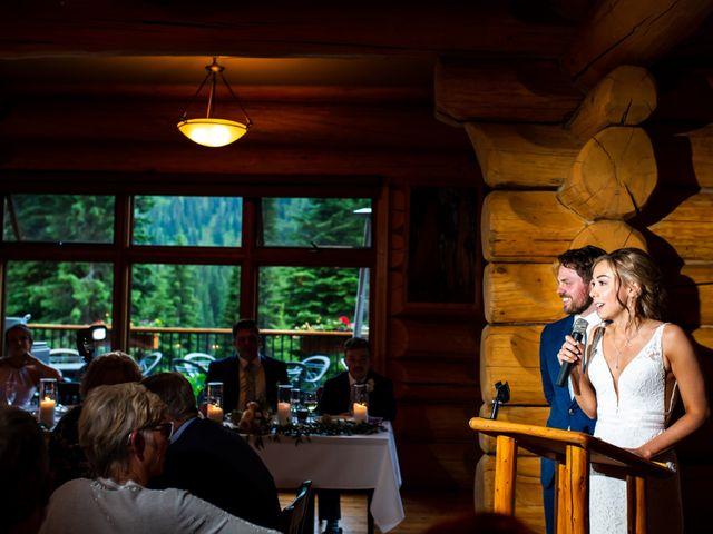 Jonathan and Taryn's wedding in Fernie, British Columbia 2