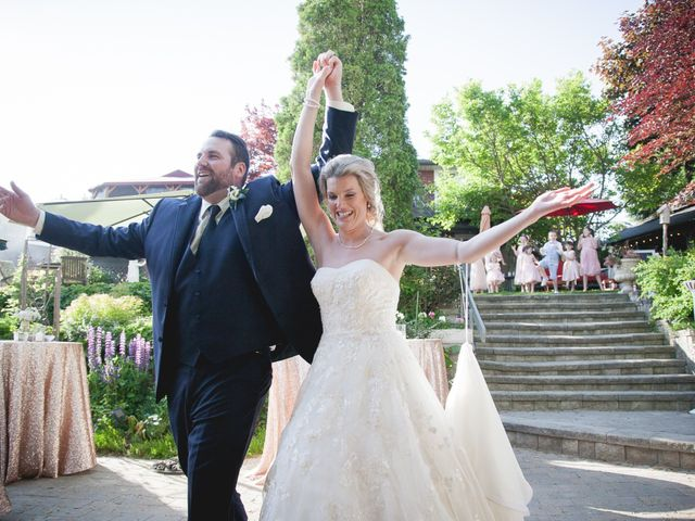 The wedding of Molly and James