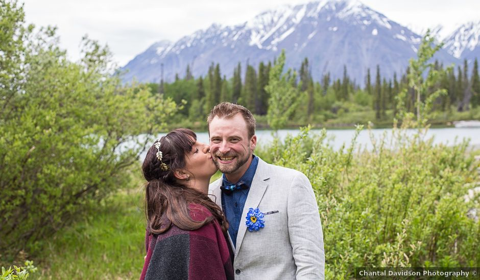 Sascha and Cassie's wedding in Haines Junction, Yukon Territory