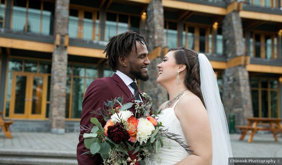 Joe and Dana's wedding in Priddis, Alberta
