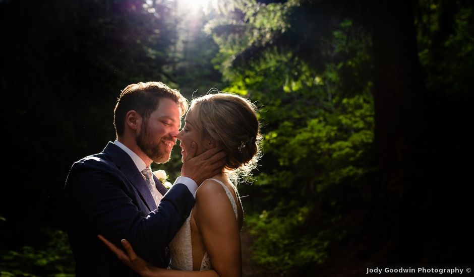 Jonathan and Taryn's wedding in Fernie, British Columbia