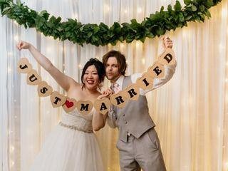 The wedding of Eri and Matt