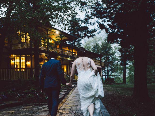 The wedding of Rachel and Mike