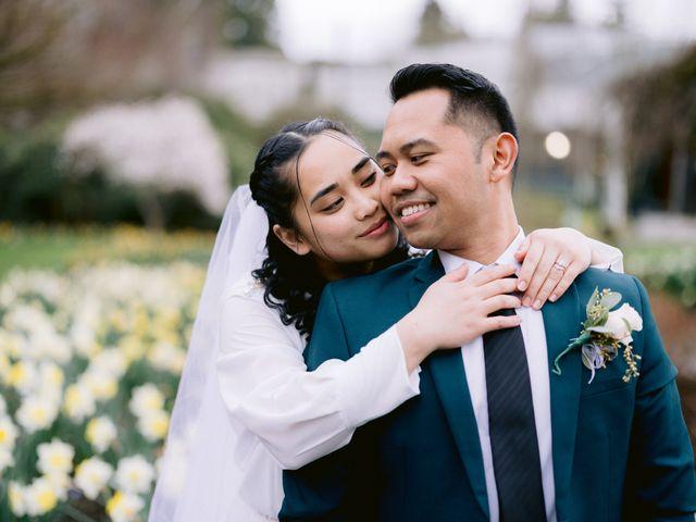 Herald and Mira's wedding in Burnaby, British Columbia 30