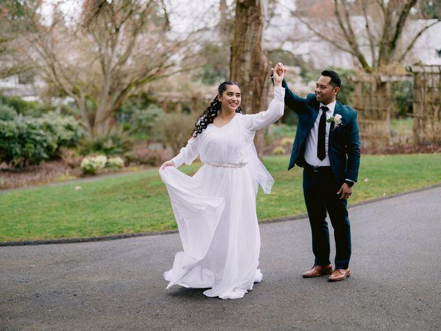 Herald and Mira's wedding in Burnaby, British Columbia 38