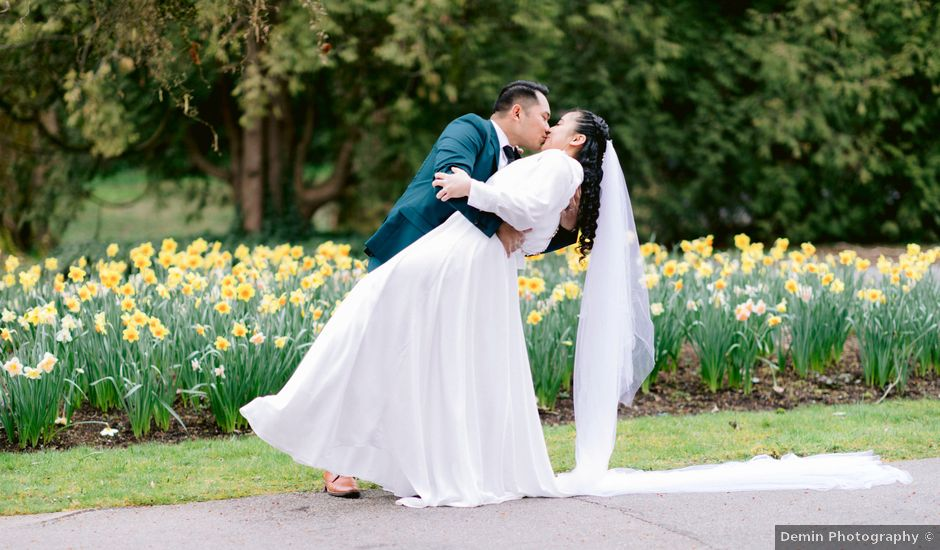 Herald and Mira's wedding in Burnaby, British Columbia