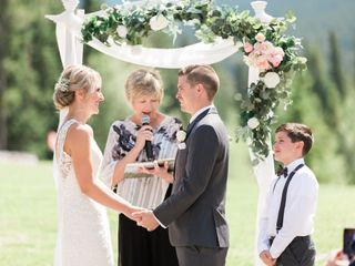 The wedding of Cassie and Clay