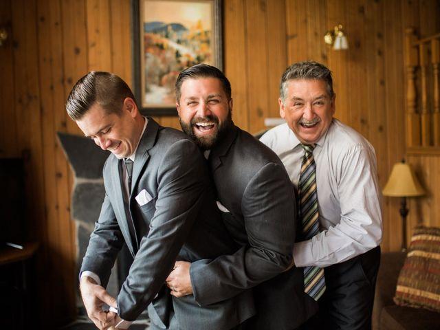 Clay and Cassie's wedding in Kananaskis, Alberta 7