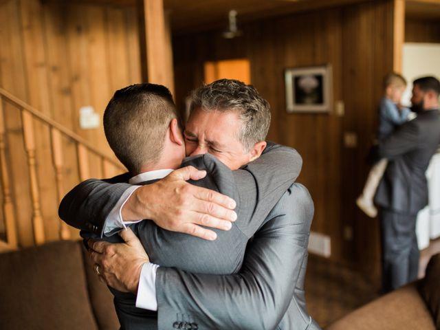 Clay and Cassie's wedding in Kananaskis, Alberta 10