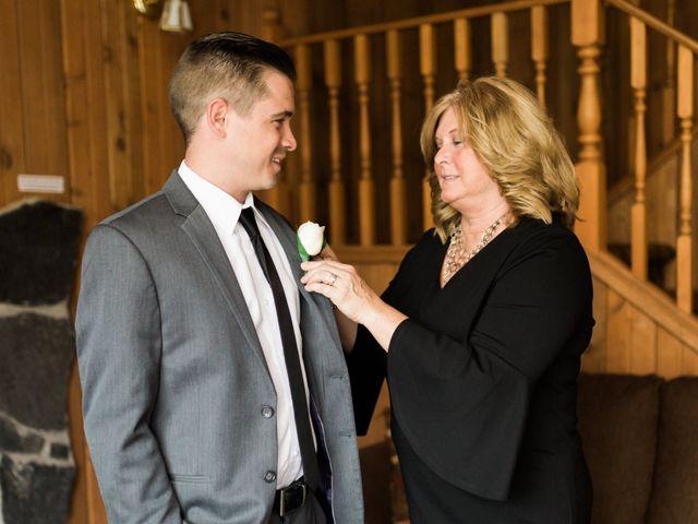 Clay and Cassie's wedding in Kananaskis, Alberta 11