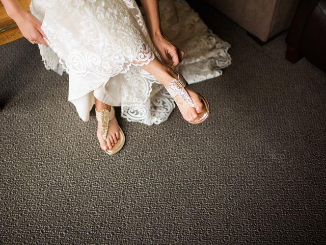 Clay and Cassie's wedding in Kananaskis, Alberta 12