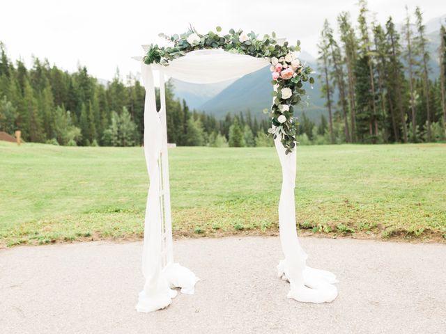 Clay and Cassie's wedding in Kananaskis, Alberta 23