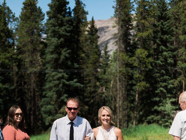 Clay and Cassie's wedding in Kananaskis, Alberta 25