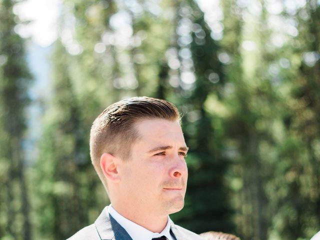 Clay and Cassie's wedding in Kananaskis, Alberta 26