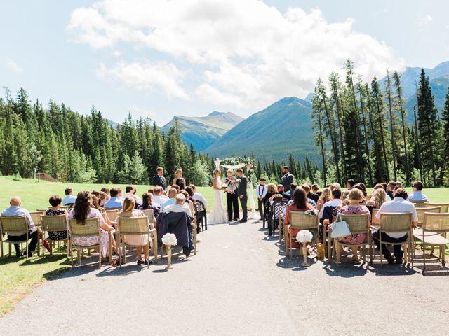 Clay and Cassie's wedding in Kananaskis, Alberta 28