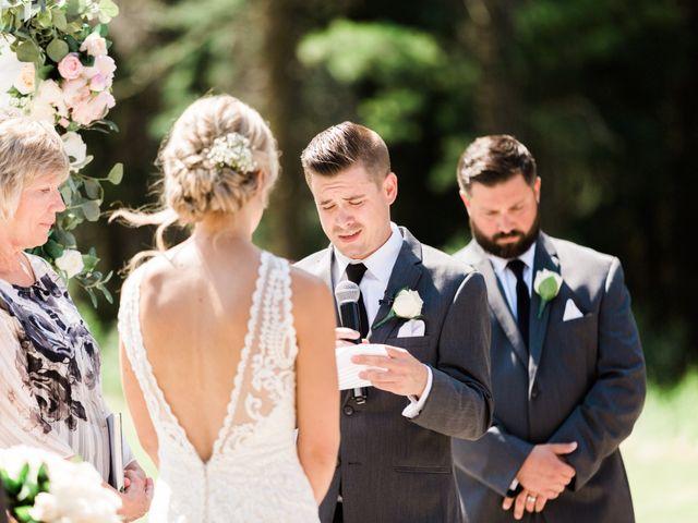 Clay and Cassie's wedding in Kananaskis, Alberta 31