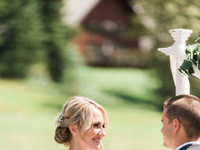 Clay and Cassie's wedding in Kananaskis, Alberta 36