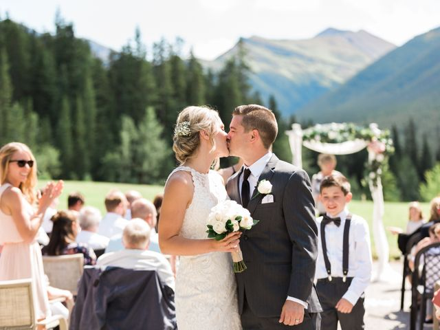 Clay and Cassie's wedding in Kananaskis, Alberta 38