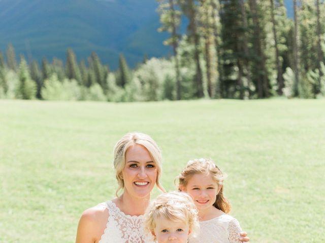 Clay and Cassie's wedding in Kananaskis, Alberta 39