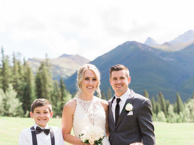 Clay and Cassie's wedding in Kananaskis, Alberta 40