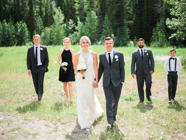 Clay and Cassie's wedding in Kananaskis, Alberta 41