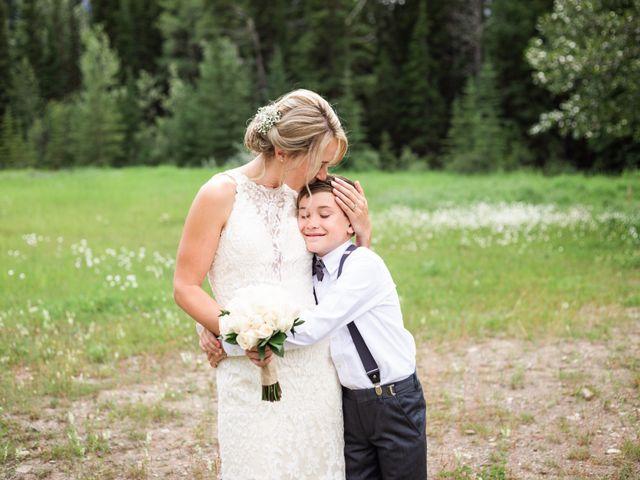 Clay and Cassie's wedding in Kananaskis, Alberta 42