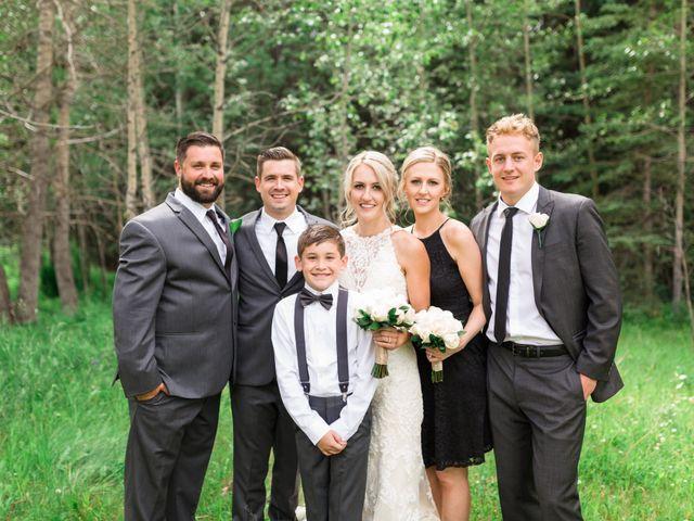 Clay and Cassie's wedding in Kananaskis, Alberta 45