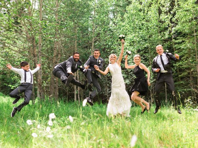 Clay and Cassie's wedding in Kananaskis, Alberta 46
