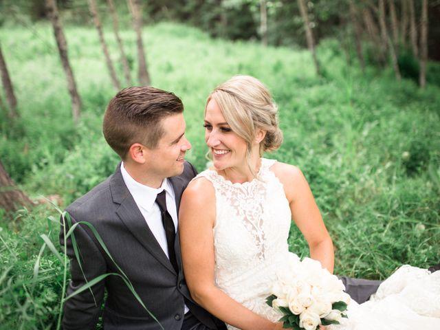 Clay and Cassie's wedding in Kananaskis, Alberta 48