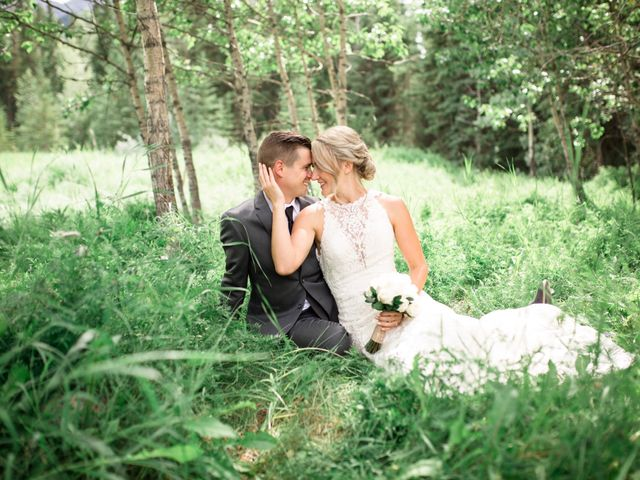 Clay and Cassie's wedding in Kananaskis, Alberta 49