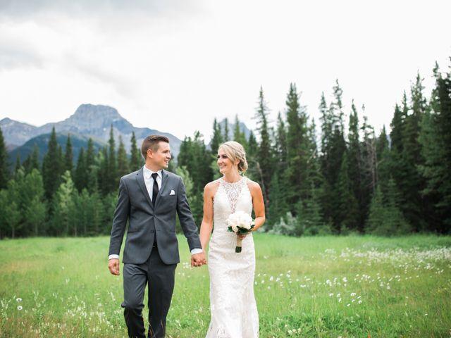 Clay and Cassie's wedding in Kananaskis, Alberta 50