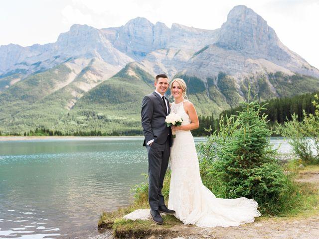 Clay and Cassie's wedding in Kananaskis, Alberta 51