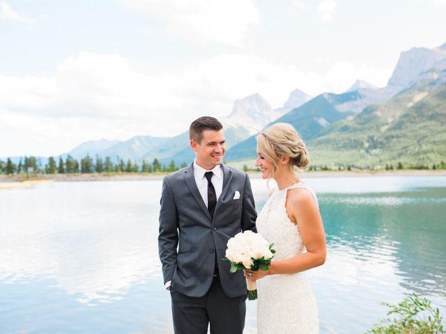 Clay and Cassie's wedding in Kananaskis, Alberta 52