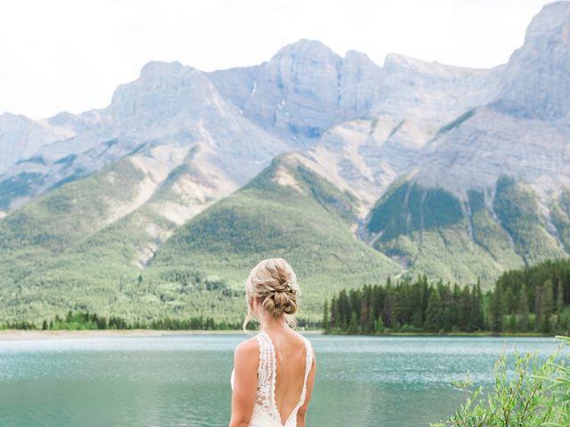 Clay and Cassie's wedding in Kananaskis, Alberta 53